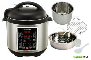 GoWISE USA GW22623 4th-Generation Electric Pressure Cooker